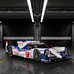 Toyota TS040 hybrid racing car