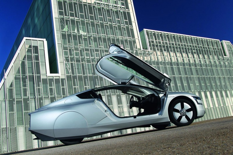 VW XL1 hybrid - London Design Museum