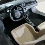 VW XL1 hybrid - interior