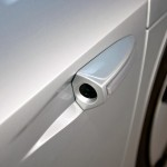 VW XL1 hybrid - rear view cameras, rather than mirrors, to aid aerodynamics