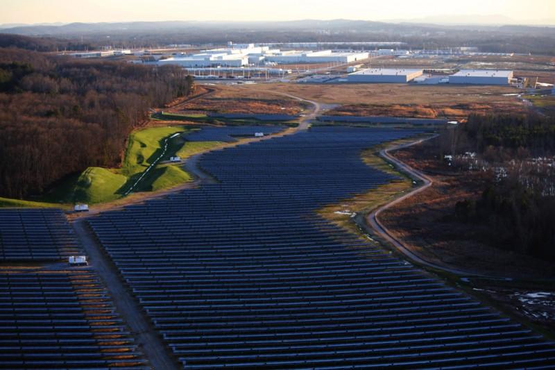 Volkswagen Chattanooga Solar Panel System