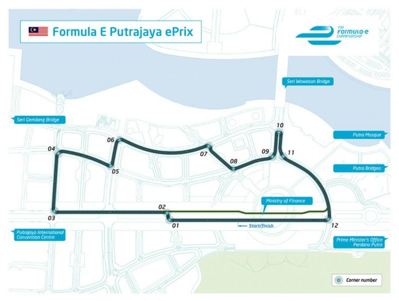 The Formula E Putrajaya ePrix unveiled today