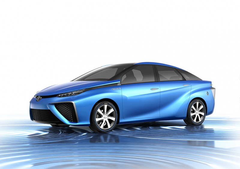 2013 Tokyo Motor Show Toyota Fuel Cell Vehicle Concept