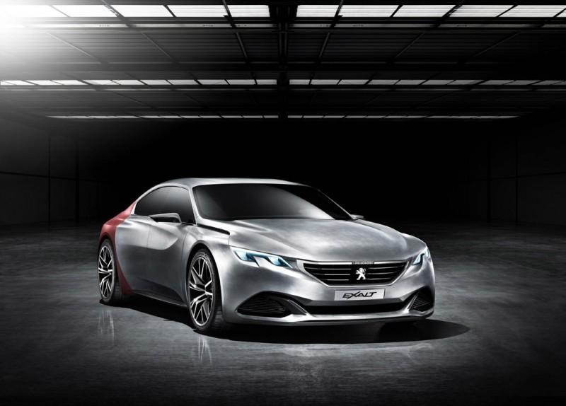 Peugeot EXALT HYbrid4 Concept
