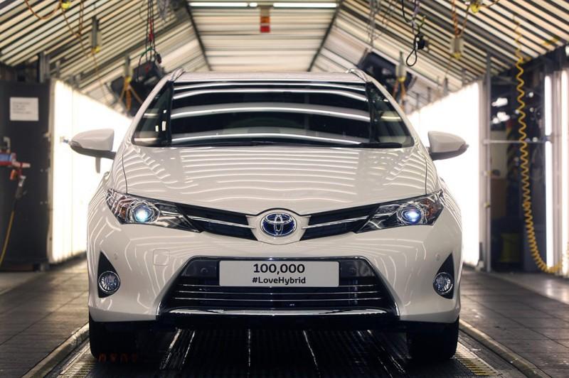 100,000th Toyota Hybrid