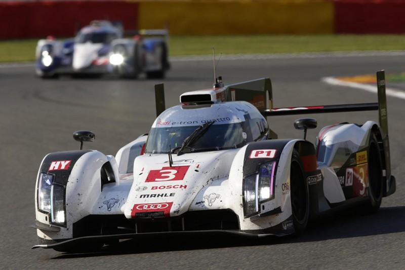 Audi aerodynamics for Le Mans