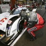 Audi prepares for Le Mans 2014