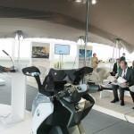 BMW C Evolution launch in Barcelona