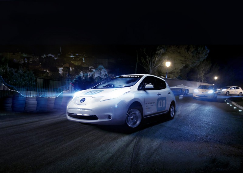 Nissan LEAF EV on International Noise Awareness Day