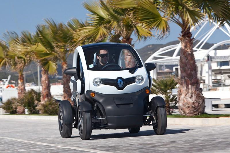 Renault Twizy at Ibiza