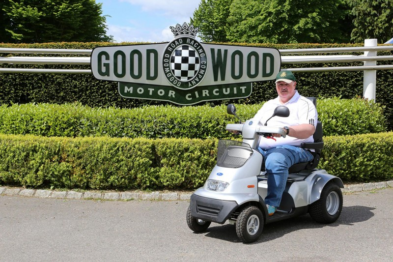 Steve Tarrant at Goodwood