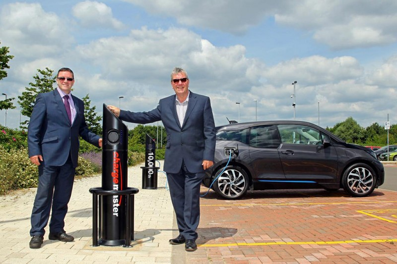 10,000th charging point installed by Chargemaster
