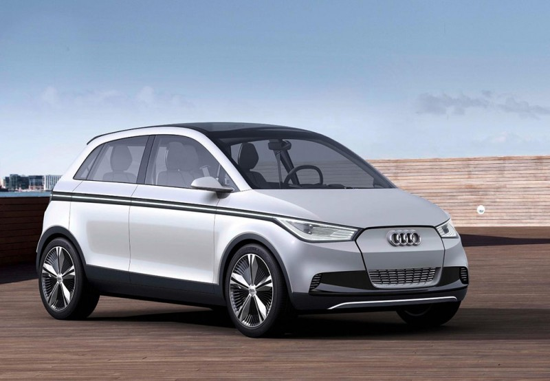 Audi A2 EV Concept from 2011