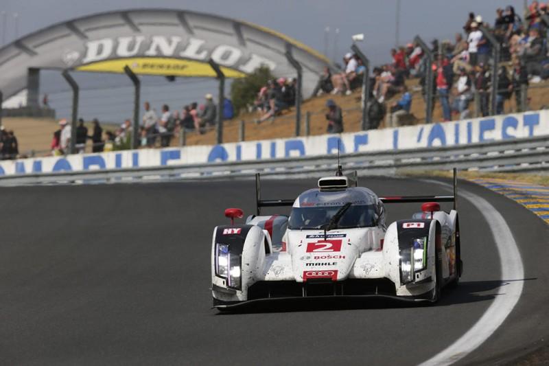 Audi R18 e-tron quattro at Le Mans 2014