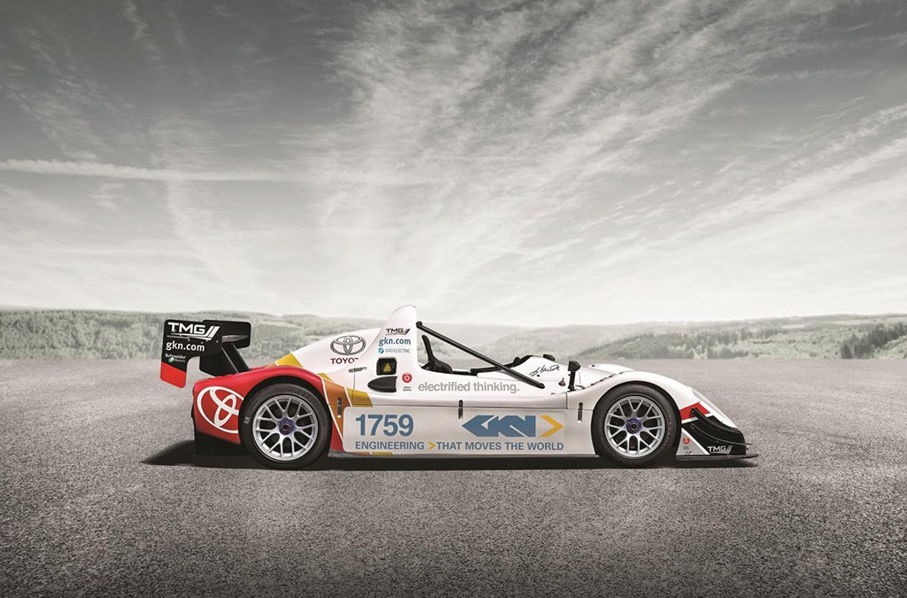 Pikes Peak EV 2012 Winner on Show at Goodwood Festival of Speed