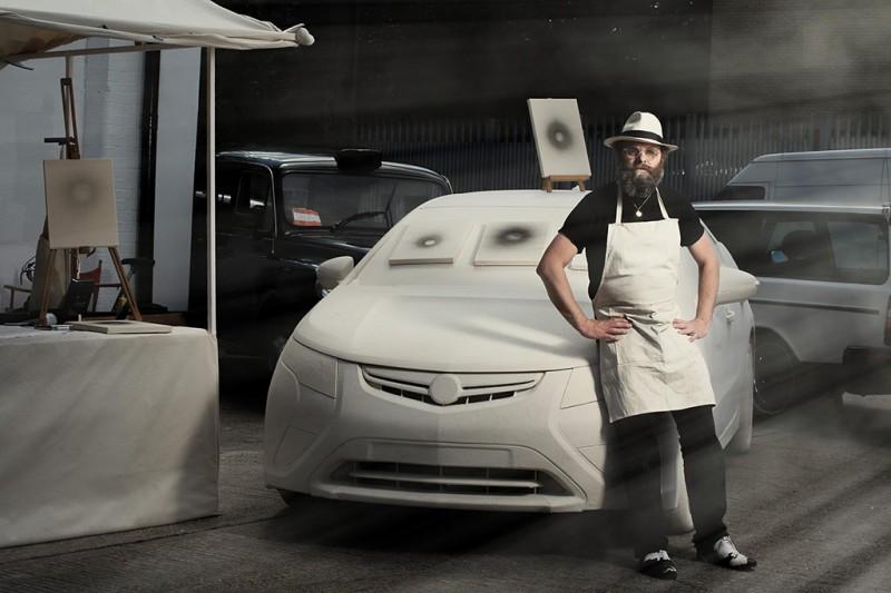 Gavin Turk's Vauxhall Ampera