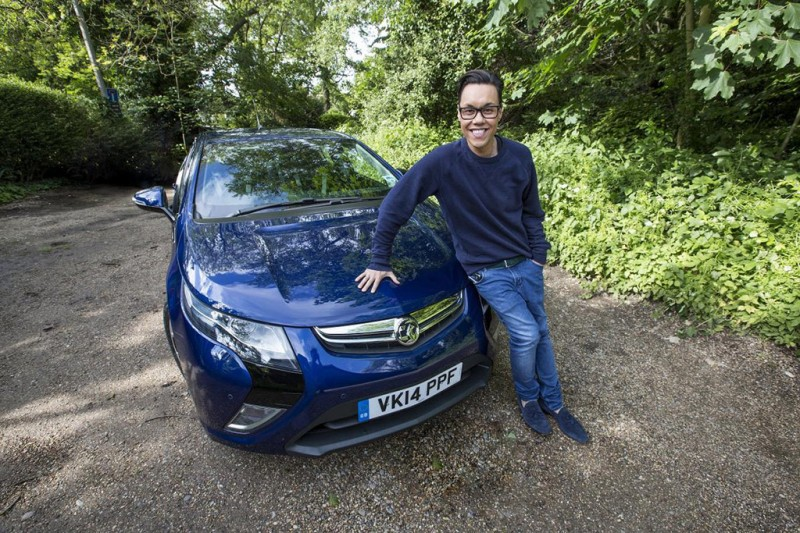 Gok Wan and the Vauxhall Ampera
