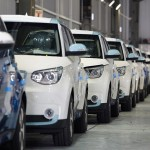 Kia Soul EV begins production