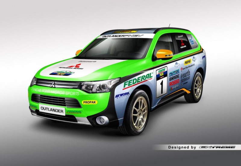 Mitsubishi Outlander PHEV Asia Rally