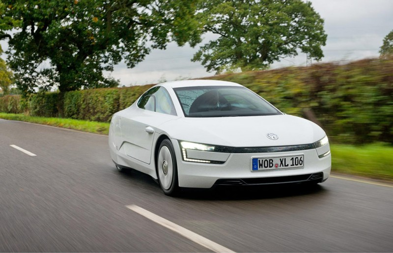 VW XL1 hybrid