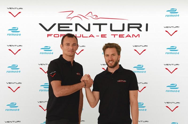 Venturi Formula E Drivers, Nick Heidfeld & Stéphane Sarrazin