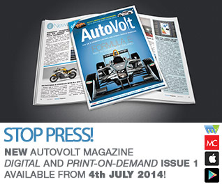 New AutoVolt Magazine digital and print on demand issue 1 available from 4th July 2014!
