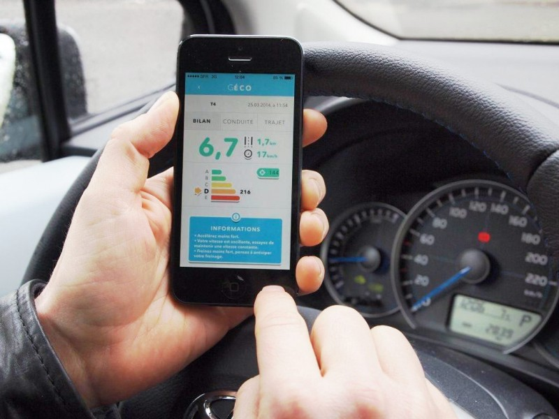 Geco the eco driving application