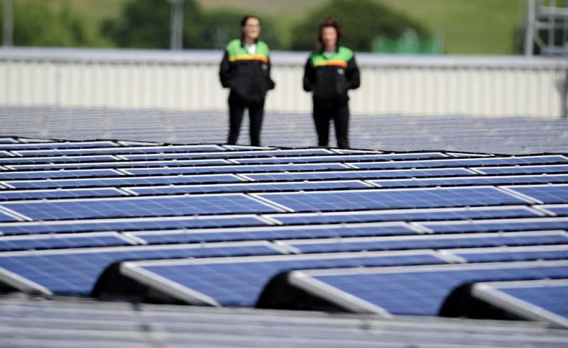 MINI solar farm