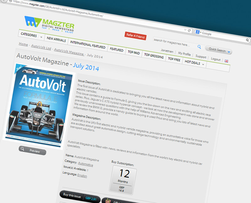 AutoVolt on Magzter