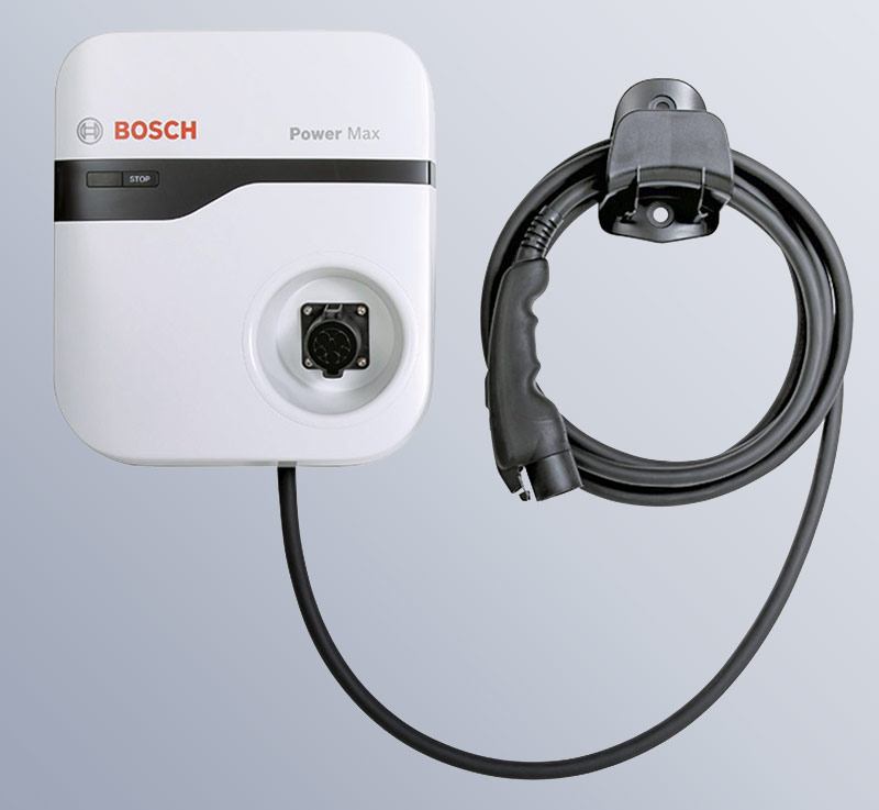 Bosch & VW e-Golf charge points