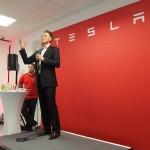 Georg Ell, Tesla - PHOTO: L Hargrave