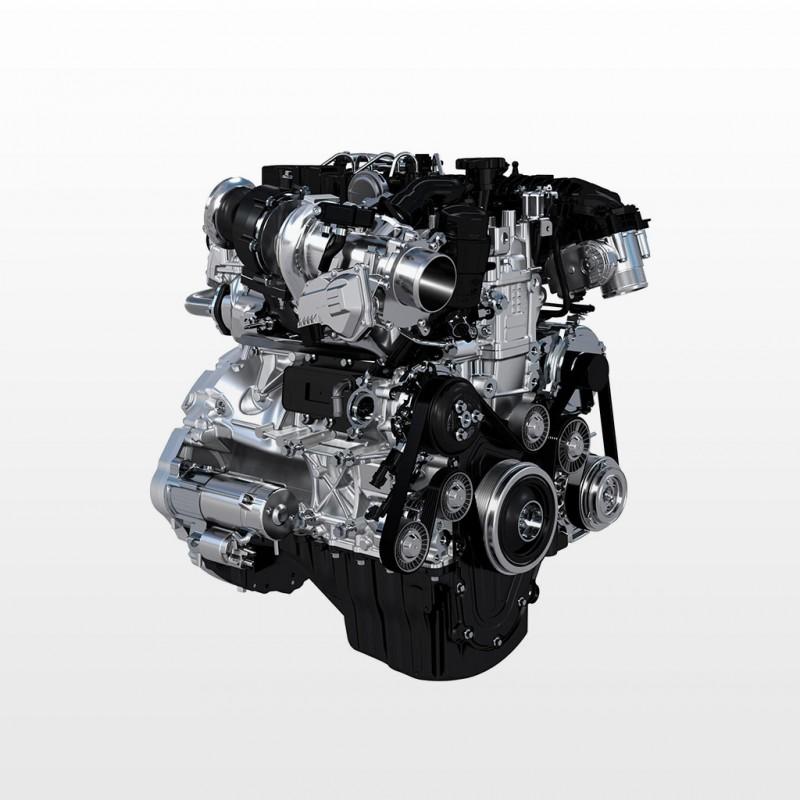 Jaguar XE Technology - Ingenium engine family
