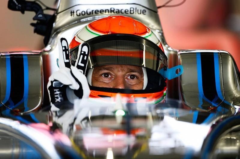 Jarno Trulli in FIA Formula E Spark-Renault SRT_01E