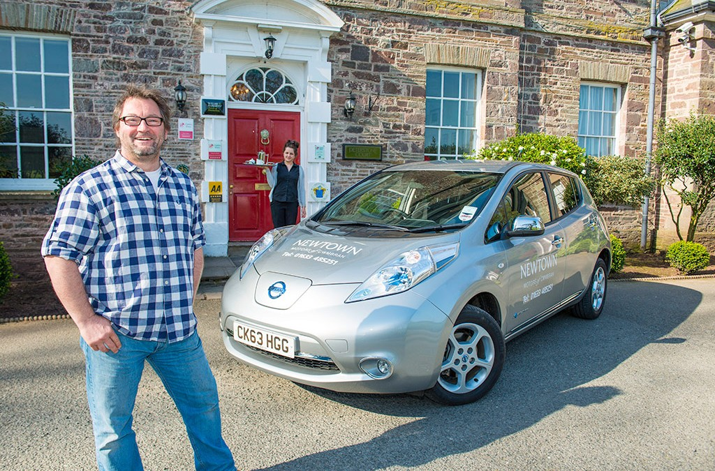 Brecon Beacons Hotel Welcomes EV Drivers