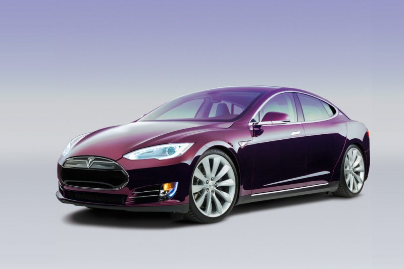 Tesla Model 3 Artists Impression - AutoVolt Magazine