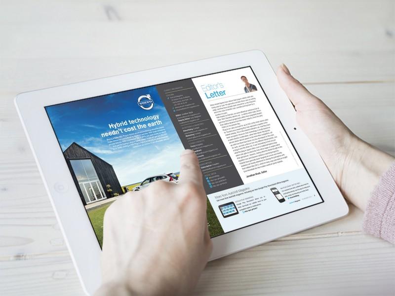 AutoVolt on iPad