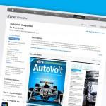 AutoVolt Magazine on Apple iTunes
