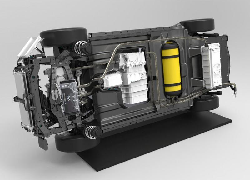 Toyota FCV Fuel Tank