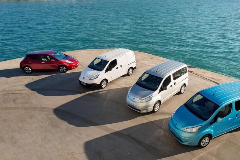 Nissan EV Family