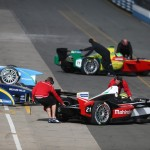 The Formula E teams used the final test day to focus on race simulations