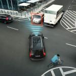 Volvo XC90 - oncoming traffic sensors