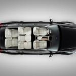 Volvo XC90 - interior layout