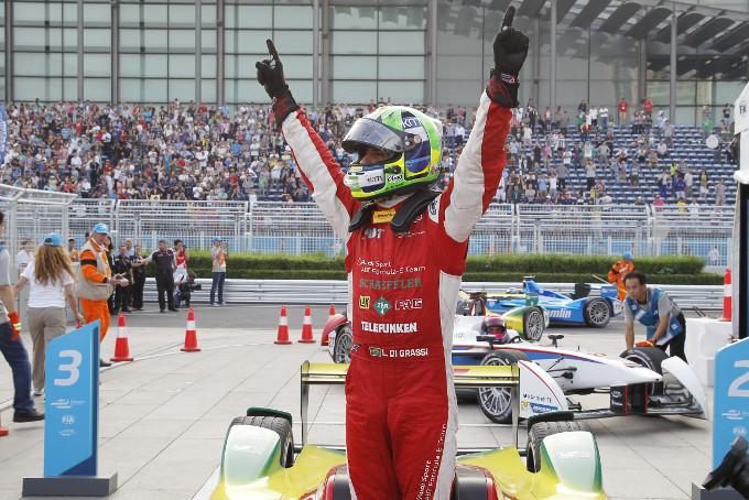 Lucas di Grassi wins the Formula E Evergrande Spring Beijing ePrix