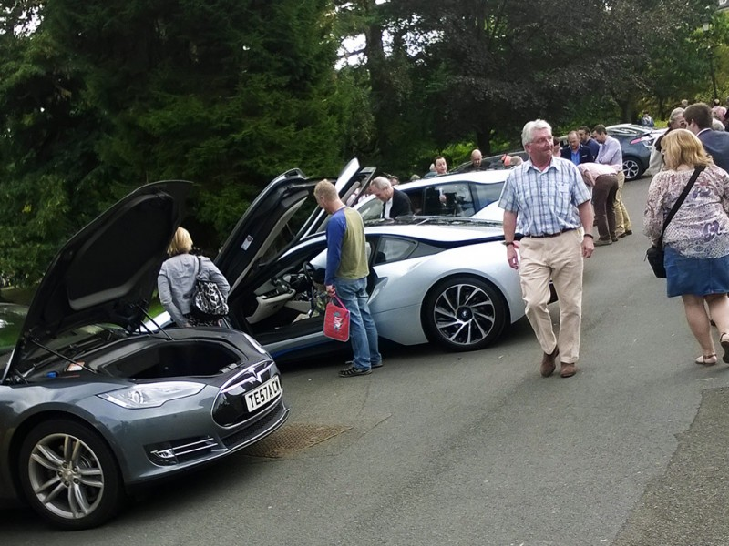 Malvern Hills Electric Vehicle Association Club Meeting