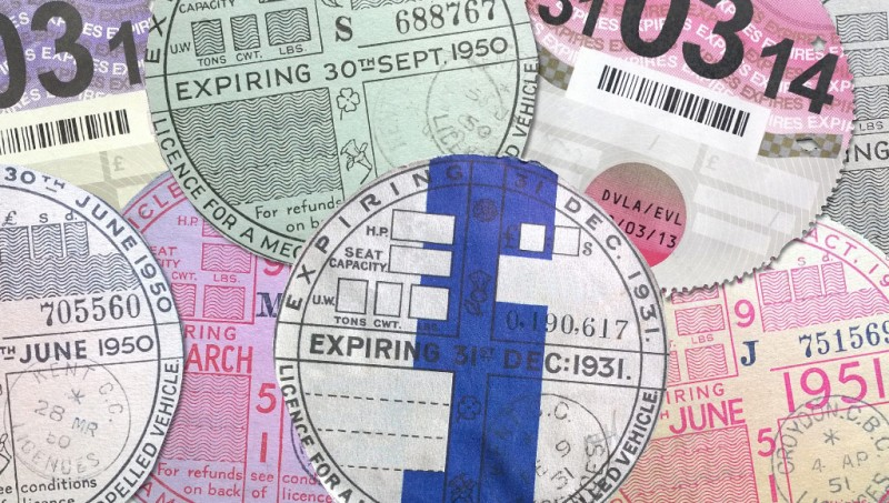 Tax Disc Montage © AutoVolt