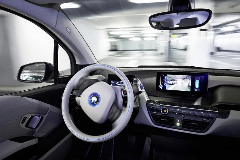 BMW i3 Parking Assist CES 2015