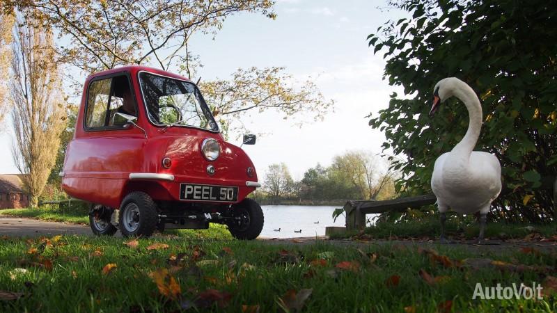 Peel P50 Electric - AutoVolt - PHOTO: Jonathan Musk