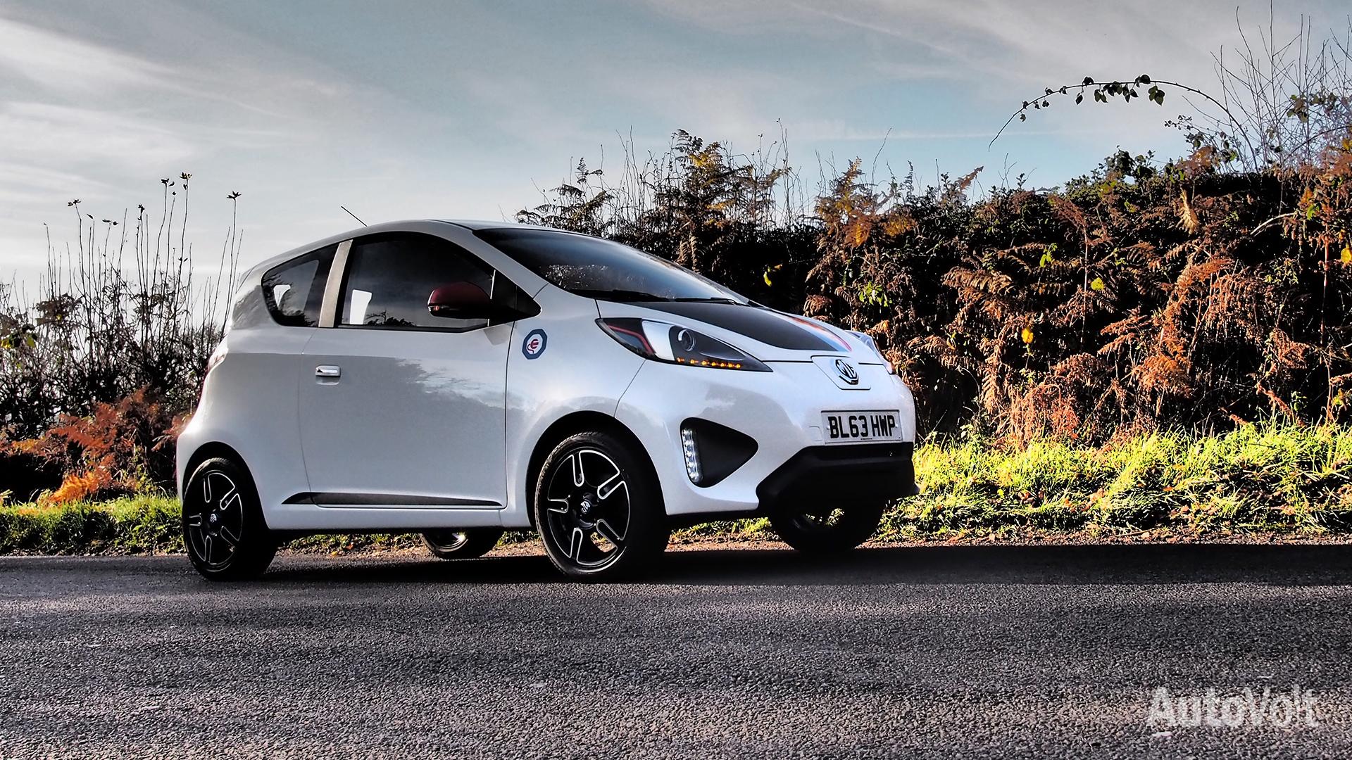 MG Concept EV Photo