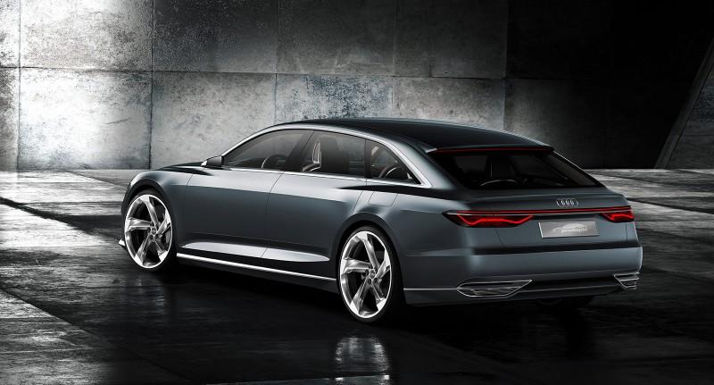 Audi reinterprets the Avant for Geneva with five door hybrid prologue show car