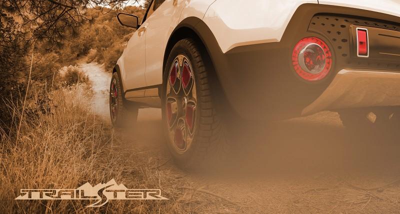 Kia electric all-wheel drive Trail'ster